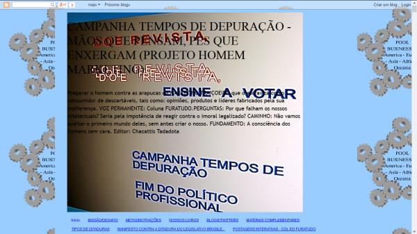 CAMPANHA GERAL TEMPOS DE DEPURAÇÃO 1