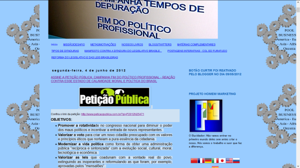 CAMPANHA GERAL TEMPOS DE DEPURAÇÃO 2