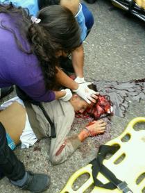 venezuela é a morte a céu aberto